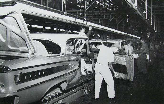 1958 Citation Assembly: Interior