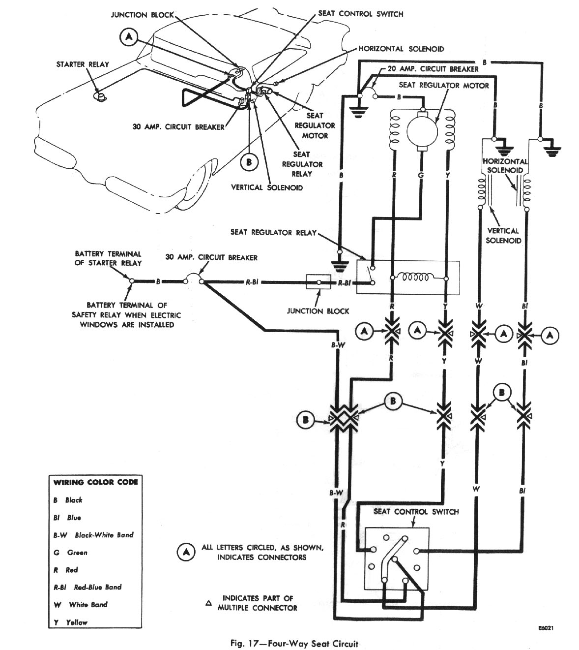 The Service Beacon Electronic Horn Schematic Four Way Seat Circuit Wiring Diagram